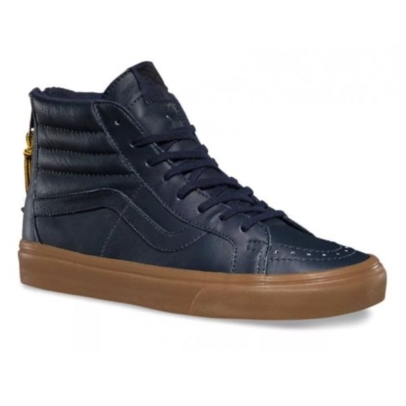 Vans Sk8-Hi Reissue Zip Hiking Navy Gum